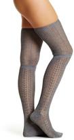 Shimera Crochet Loose Top Over-The-Knee Socks