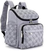 WELLuse Diaper Bag Backpack with Stroller Straps, and Diaper Changing Pad – For Women and Men
