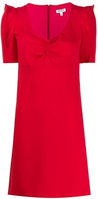 Kenzo Ruched-Bust Mini Dress