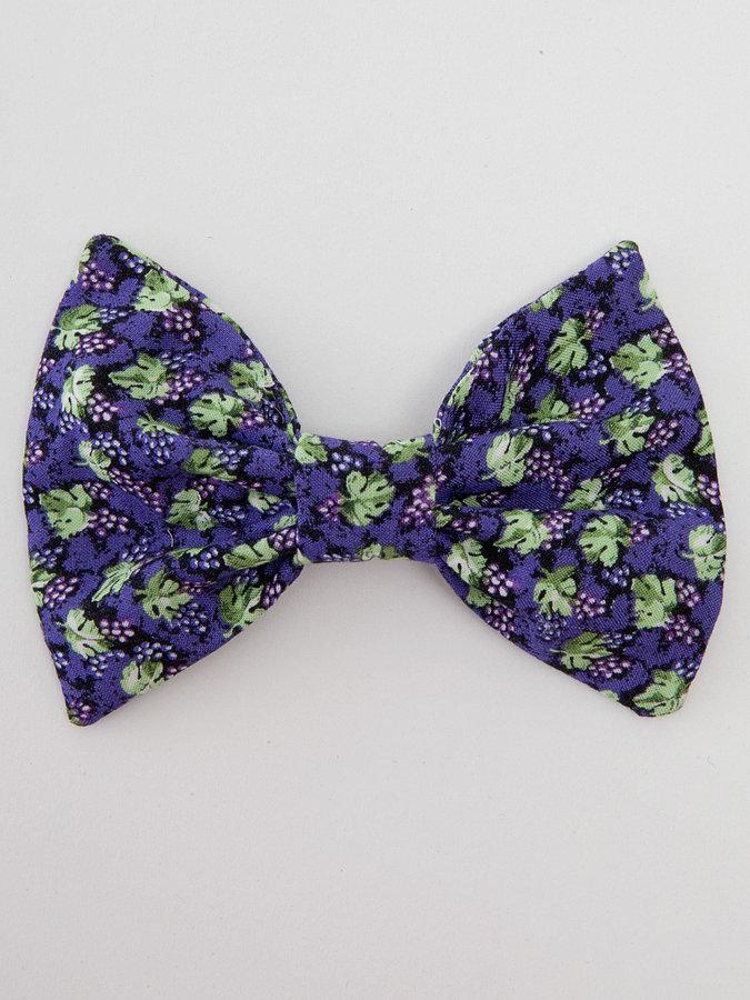 American Apparel California Select Original Grapes & Leaves Bow Hair Clip