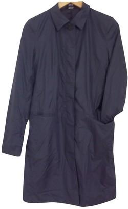 Joseph Blue Trench Coat for Women