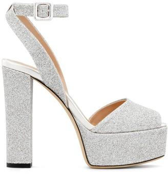 Giuseppe Zanotti Betty Glitter sandals