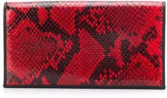 Paul Smith snakeskin-effect panel wallet