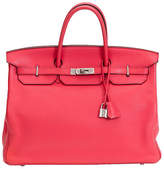 One Kings Lane Vintage Pristine Hermès Rose Jaipur Birkin Bag