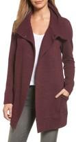 Women's Caslon Convertible Collar Sweater Coat