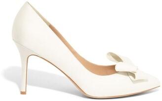 Phase Eight Kara Satin Pointed Court Shoes