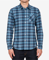 Volcom Men's Long-Sleeve Gaines Plaid Shirt