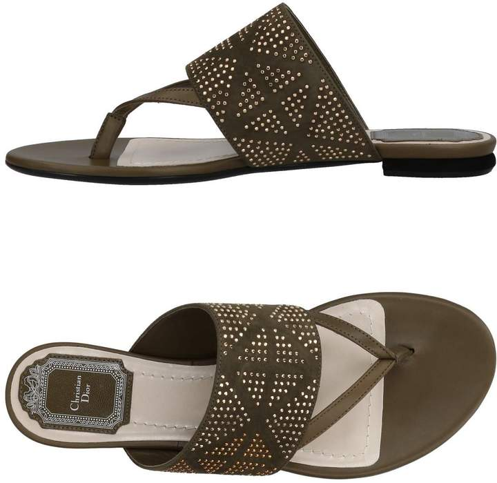 Christian Dior Toe strap sandals