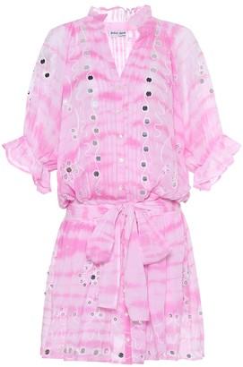 Juliet Dunn Exclusive to Mytheresa a Embellished cotton shirt dress