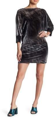 Petit Pois BY VIVIANA G Velour Tunic Dress