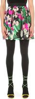Mary Katrantzou Mini Cloud silk and cotton-blend skirt