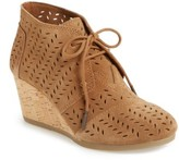 Toms Women's Perforated Chukka Wedge Boot