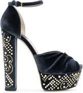 Elie Saab studded platform sandals