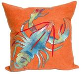 Lobster Outdoor Pillow