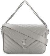 Saint Laurent Lou Lou shoulder bag - women - Leather - One Size