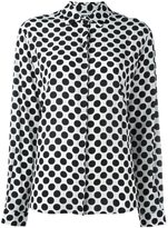 MSGM polka dot shirt - women - Silk - 40