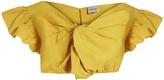 Rachel Comey Crush cotton-poplin cropped top