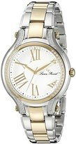 Lucien Piccard Women's LP-16353-SG-22 Elisia Analog Display Quartz Two Tone Watch