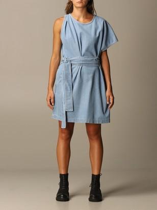 N°21 One Shoulder Denim Dress N deg; 21