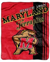 "NCAA Silk Touch Maryland Terrapins Throw - Multi-Colored (50""x60"")"