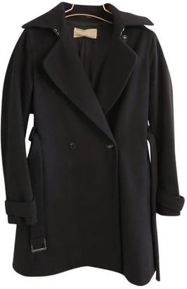 Mauro Grifoni Black Wool Coats