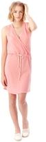 Alternative Waist Tie Eco-Jersey Mini Dress