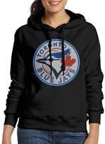 Sarah Women's Toronto Blue Jays Logo Hoodie M