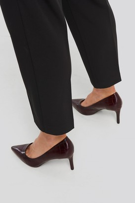 MANGO Luna Shoes Red