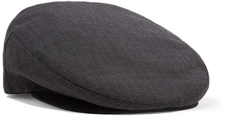 Isabel Marant Gabor Checked Wool Cap