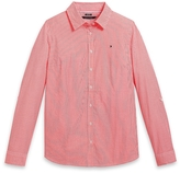 Tommy Hilfiger Final Sale- Neon Stripe Oxford Shirt