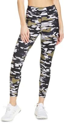 The Upside Pearl Camo Midi Yoga Pants