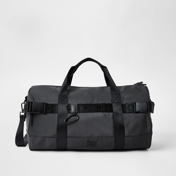 Thumbnail for your product : River Island Mens Grey RR holdall