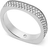 Michael Kors Pavé Flat-Edge Ring