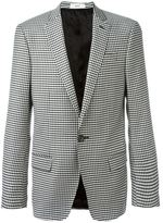 Bally checked blazer