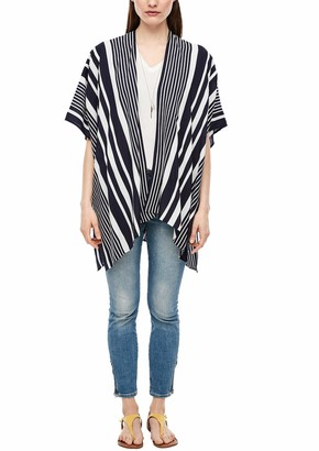 S'Oliver Women's Poncho Cardigan Sweater