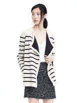 Banana Republic Texture Striped Cardigan