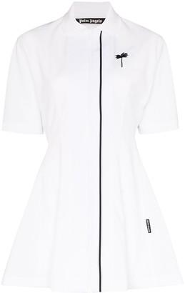 Palm Angels Zip-up tennis dress
