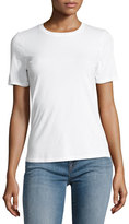 J Brand Colbee Short-Sleeve Cotton Tee, White