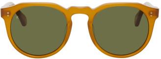 Raen Orange and Green Remmy Sunglasses