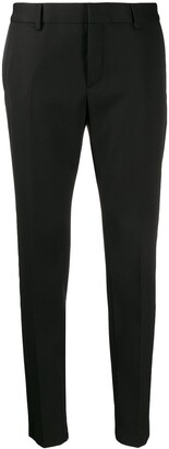 Saint Laurent Satin Stripe Tailored Trousers