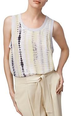 b new york Tie-Dyed Sleeveless Top