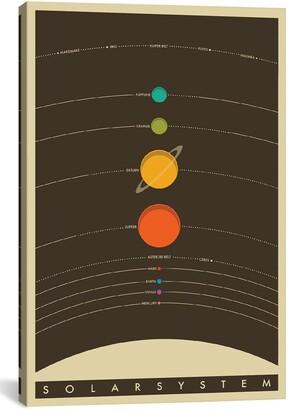 iCanvas 'Solar System' Giclee Print Canvas Art