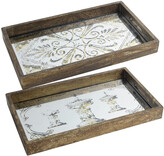 A&B Home Set Of 2 Trays