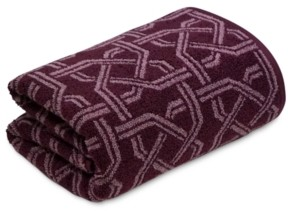 "Hotel Collection Ultimate MicroCotton Symmetry 30"" x 56"" Bath Towel, Created for Macy's Bedding"