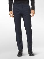 Calvin Klein Platinum Flat Front Pants