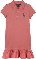 Ralph Lauren Big Pony cotton-blend dress 7-14 years
