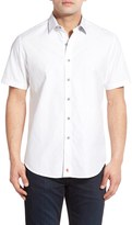 Robert Graham Seven Wonders Short Sleeve Classic Fit Shirt