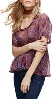 Free People Say You Will Paisley Shirt