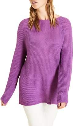 Marina Rinaldi Alzato Boatneck Shaker Sweater
