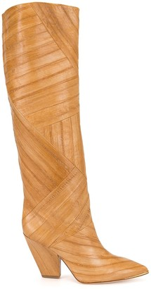 Tory Burch Lila 90mm knee-high boots